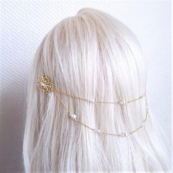 Iris (perles) Bijou de tete