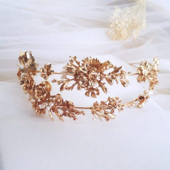 Eleonore -Diadème de mariée