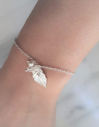 "Bracelet Demoiselles d'honneur ""Nélia"" avec perles swarovski"