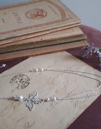 Maé - Headband mariage avec perles swarovski