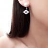 Amina - Boucles d'oreilles œil