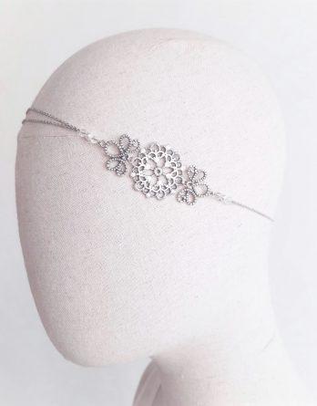 Emma - Headband mariage avec perles Swarovski