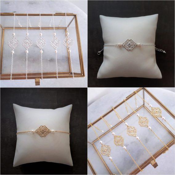Elena - Bracelet mariage - Bracelet Demoiselles d'honneur