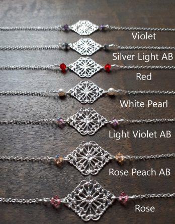 "Bracelet Demoiselles d'honneur ""Elena"""