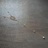 Manon - Collier bijou de dos mariage avec perles swarovski